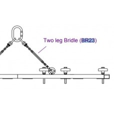 BR23 Chain Bridle for use with Resolution 2, 2 or 3 wide flybars (2 leg)