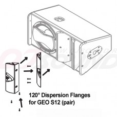 NEXO 120° Dispersion Flanges.