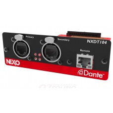 NEXO Dante Network Card For NXAMP.